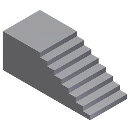 Tipos de escaleras en clientes particulares y empresas for Escalera tipo u